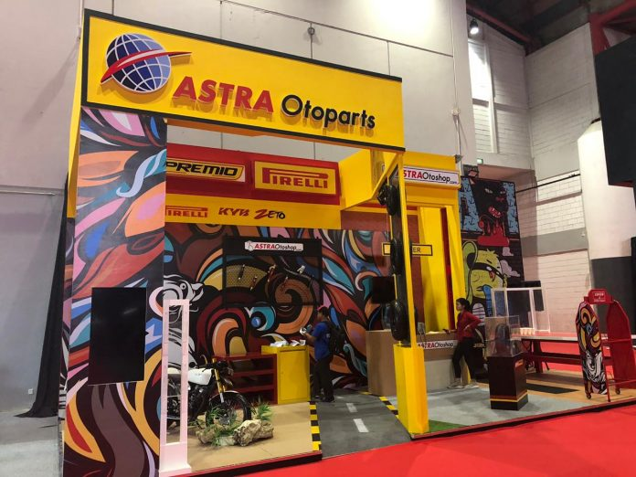Di Jakarta Fair Kemayoran 2019 Astra Otoparts Menggelar Diskon