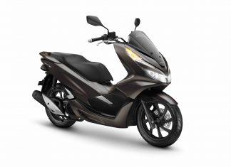 Honda PCX dengan Warna Baru