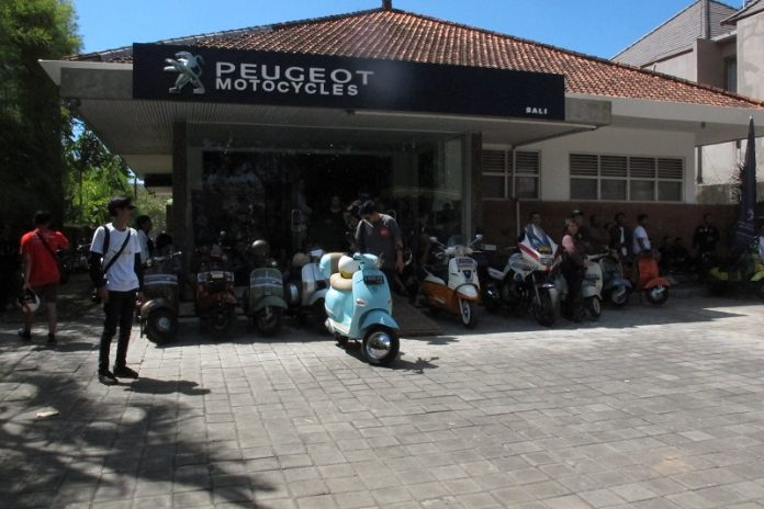 Dealer Peugeot Motocycles di Bali