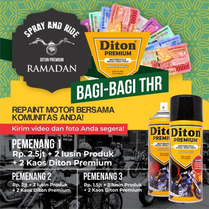 Spray and Ride Ramadan