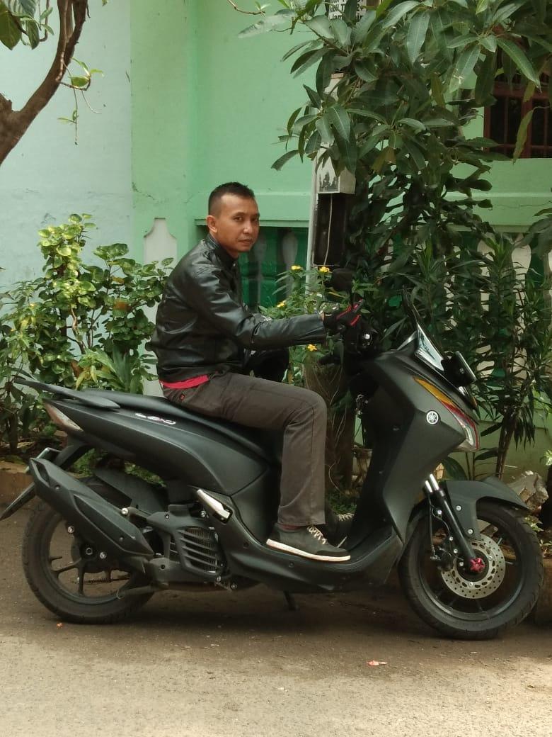 Mudik Menggunakan Yamaha Lexi