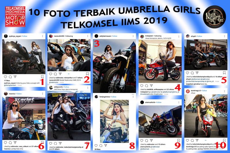Umbrella Girls Photo Contest