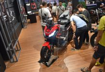 Di Jakarta Fair Kemayoran 2019 Wahana Menghadirkan Honda X-ADV