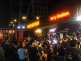 HOG Anak Elang Jakarta Chapter BBQ Night Ride