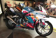 Honda CBR250RR Fury Dragon