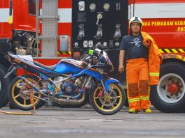 modifikasi Kawasaki ninja 150 shinobi warrior