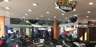 Yamaha menampilkan produk unggulan, promo spesial