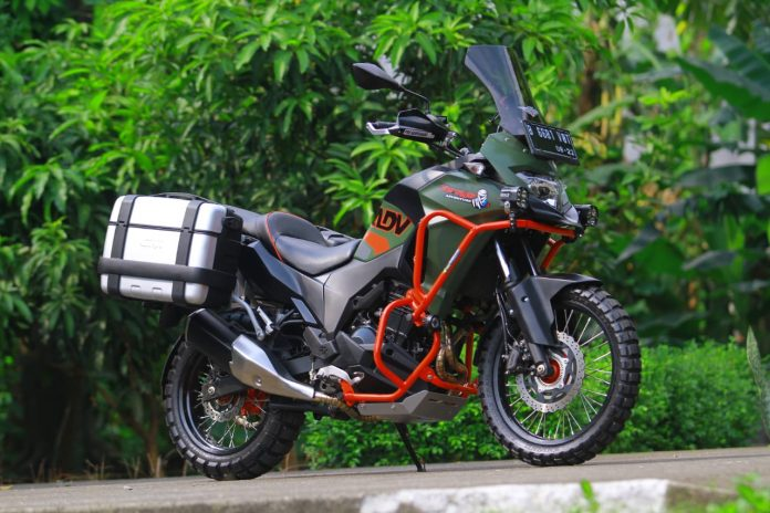 Ubahan Kawasaki Versys 250