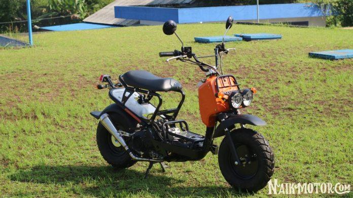 Gaya Honda Zoomer Lokal Hasil Ubahan Radikal