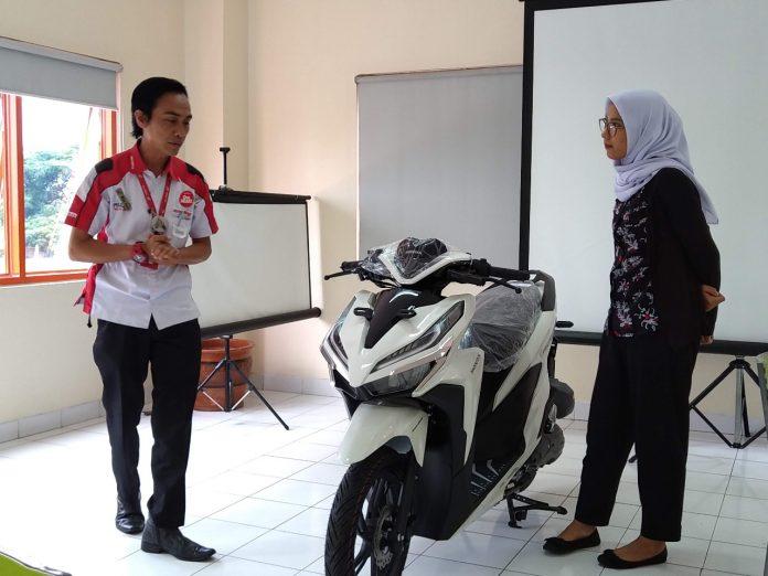 Kontes Garda Terdepan Layanan Wahana Honda