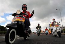 Vespa World Days 2019 di Zanka Hongaria