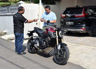 Pemilik Pertama Honda CB650R