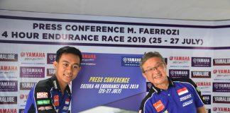 Faeroz Siap Berlaga di Balap Ketahanan Suzuka 4 Hours Endurance