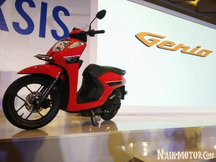 Harga Skutik Honda Genio Dijual Mulai Rp 17,2 Juta