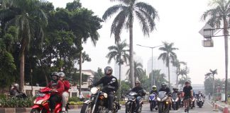 Subuh Morning Ride Bikers Dakwah