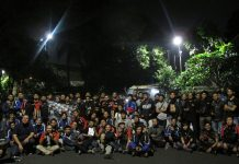 Perdana Rombongan Mudik Bareng Suzuki Satria F150 Club Indonesia 2019