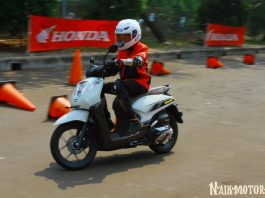 Impresi Pertama Test Ride Honda Genio Cukup Menggoda