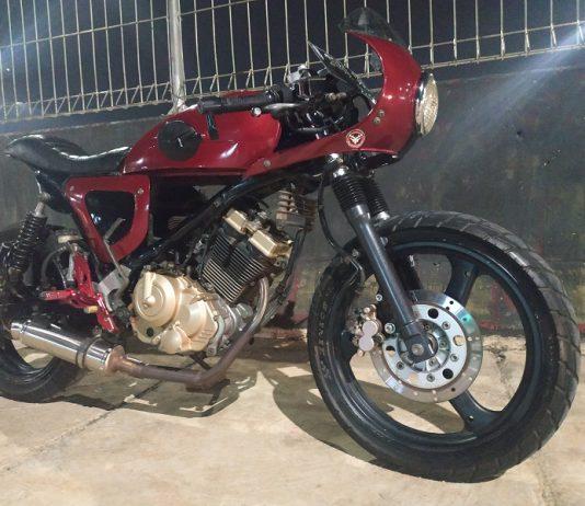 Memodifikasi Suzuki Satria FU150 jadi Cafe Racer