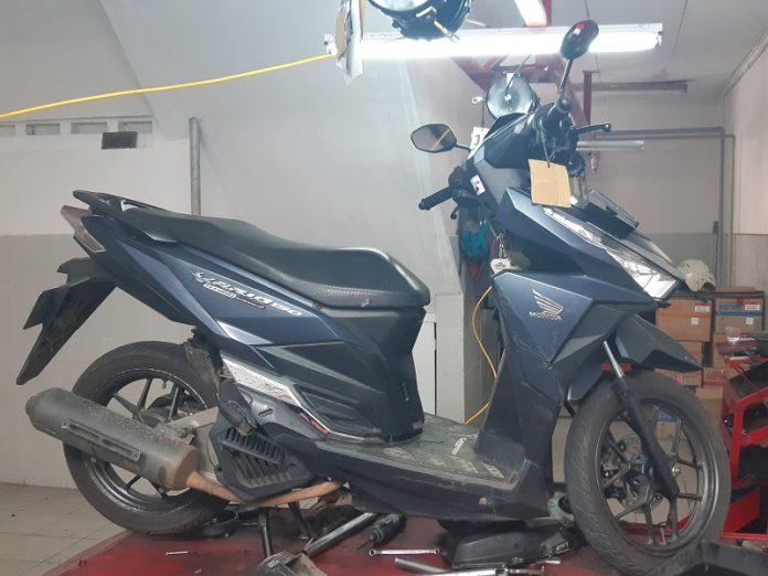 perawatan ringan pada skuter matik