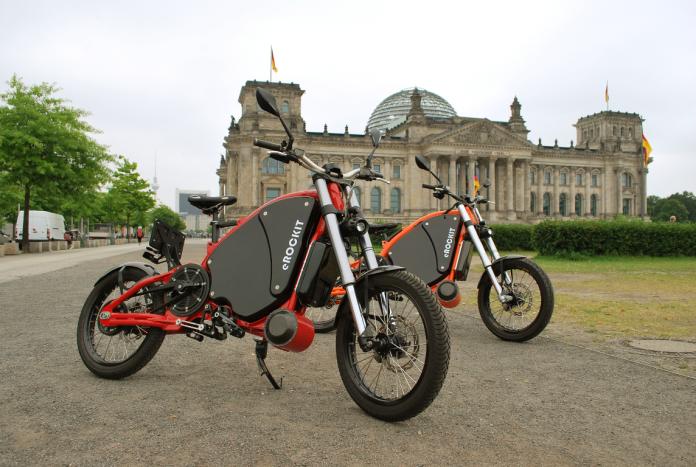 Sepeda Motor Listrik eROCKIT untuk Kaum Urban