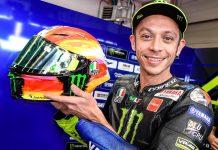 Helm Rossi di MotoGP 2019 Mugello