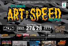 Bintang Tamu Art Of Speed 2019
