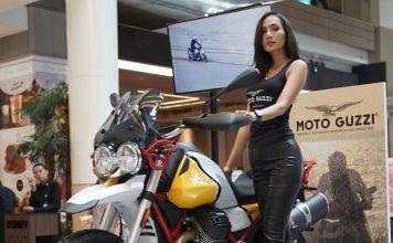 Moto Guzzi V85TT Hadir di Kota Kasablanka