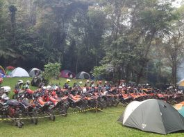 Halal Bihalal CRF250 Rally Indonesia
