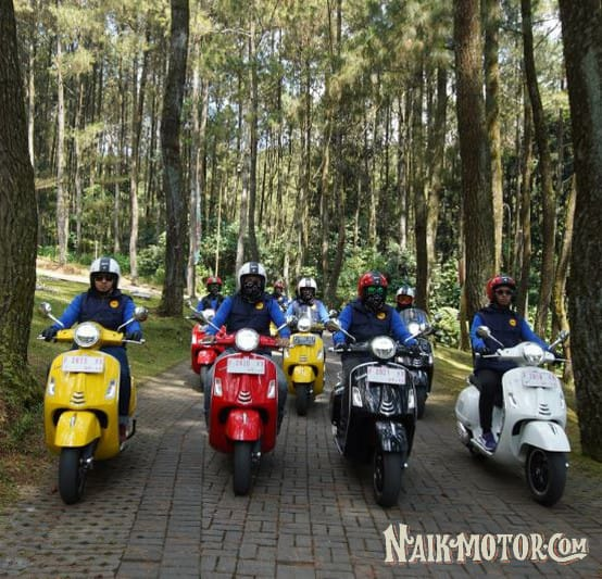 Galeri Media Test Ride Vespa GTS Super 150