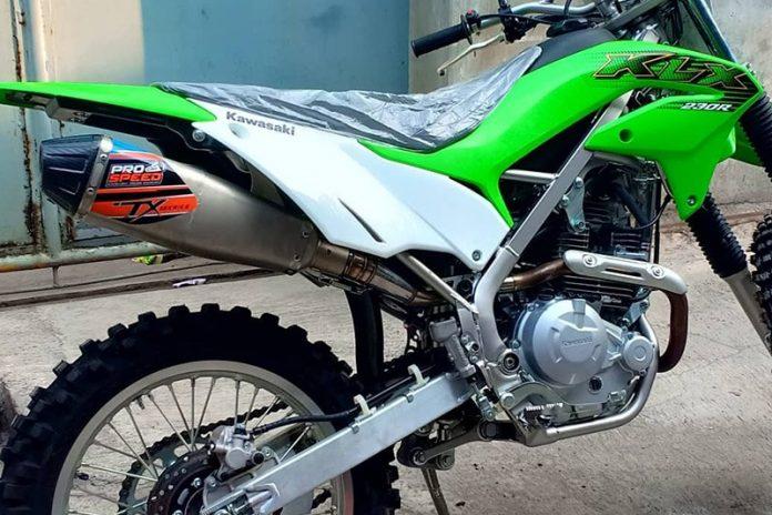 Knalpot Pro Speed untuk Kawasaki KLX230