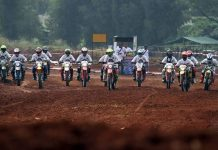 Reuni Pembalap Gaek di Trek Tanah