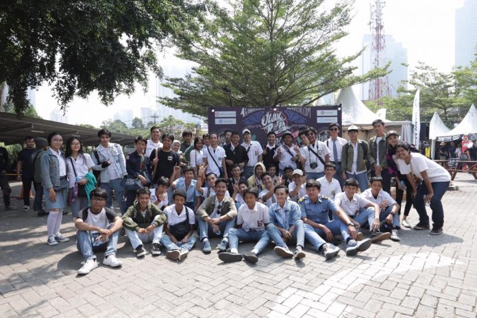 Pelajar SMA di Jejak Roda 2019