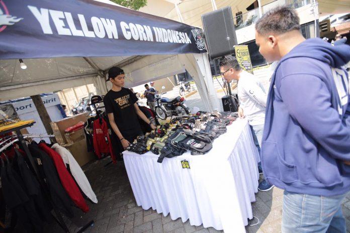 Yellow Corn dan Bell Helmet di Jejak Roda 2019