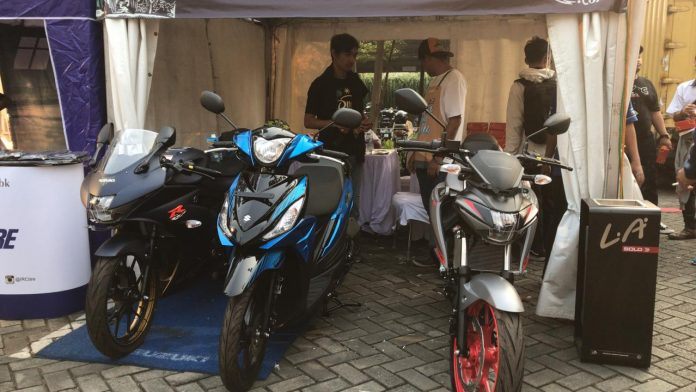 Suzuki di Jejak Roda 2019
