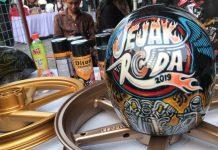 Helm Airbrush Jejak Roda 2019 dari Diton