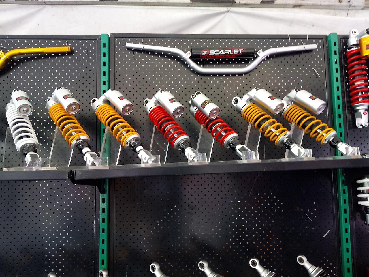 Scarlet Racing Memperkenalkan produk barunya: Carburator
