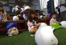 Lomba Mewarnai Helm Anak di Jejak Roda 2019
