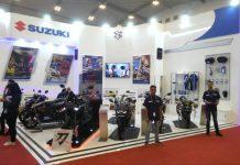 Suzuki Menggelar Games Bagi Pengunjung