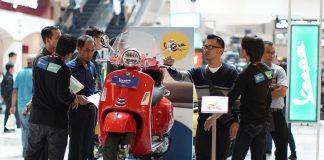 Vespa GTS Super 150 Dihadirkan di Kota Kasablanka