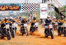 main tanah fla track Ducati Indonesia
