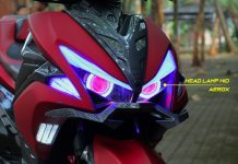 Upgrade Headlamp dari GMA