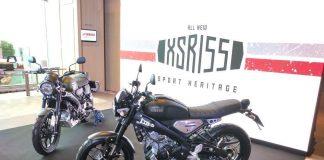 Custom Pabrikan Yamaha XSR155