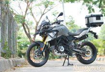 CAOS Custom Bike menawarkan paket modifikasi BMW G 310 GS Menggunakan Pelek Jari-jari dengan harga Rp. 23 juta