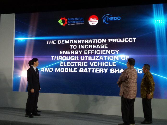 Proyek Percontohan Baterai Swapable