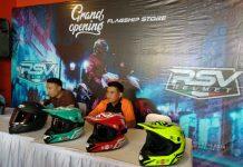 Flagship Store RSV Helmet Kelima Hadir di KTM Daan Mogot
