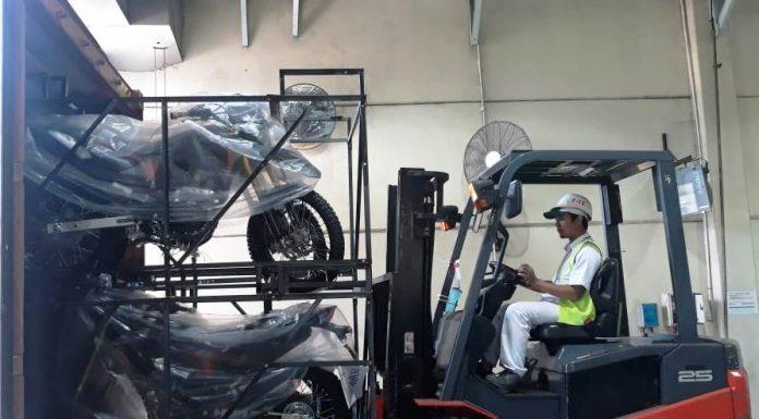 Ekspor Honda CRF150L Agustus 2019