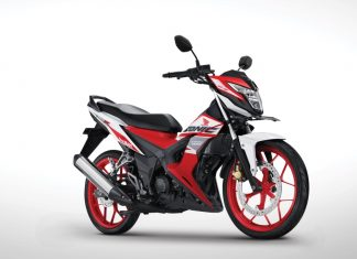 Honda Sonic 150R Tampil