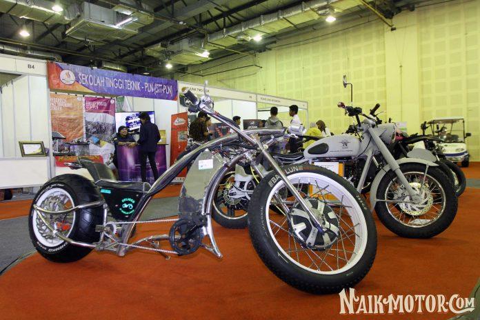 sepeda bermotor listrik modifikasi