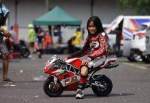 Satu-satunya Pembalap Perempuan IndominiGP