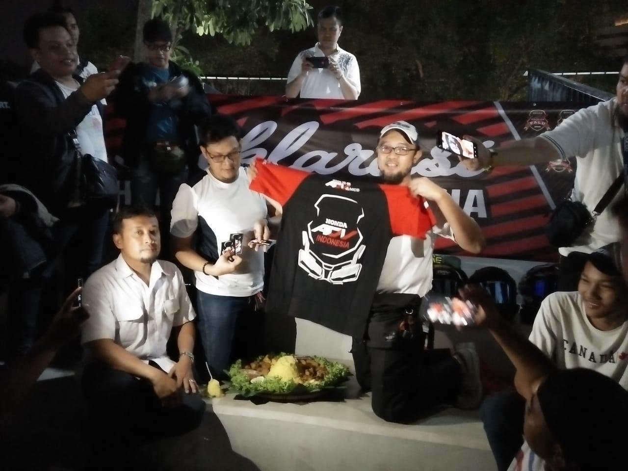 Deklarasi Honda ADV Indonesia